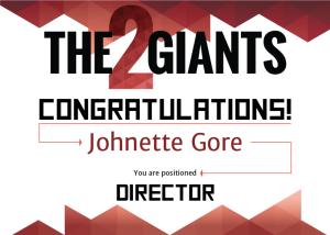director-certificate_Johnette-Gore